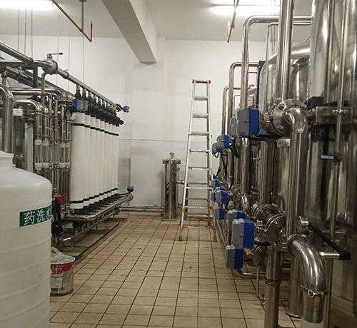 厦门航空福州配餐水处理系统工程